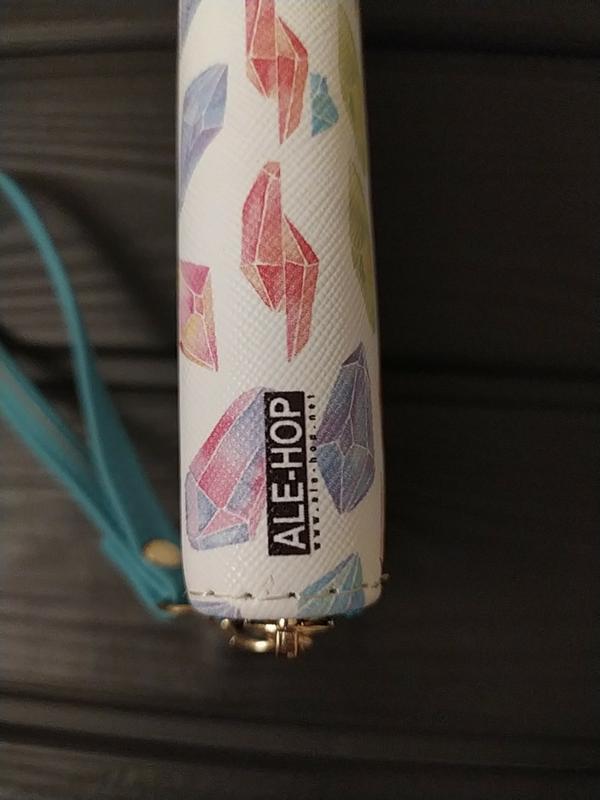 Женский яркий кошелек  для хорошего настроения ale-hop испания - Фото 4