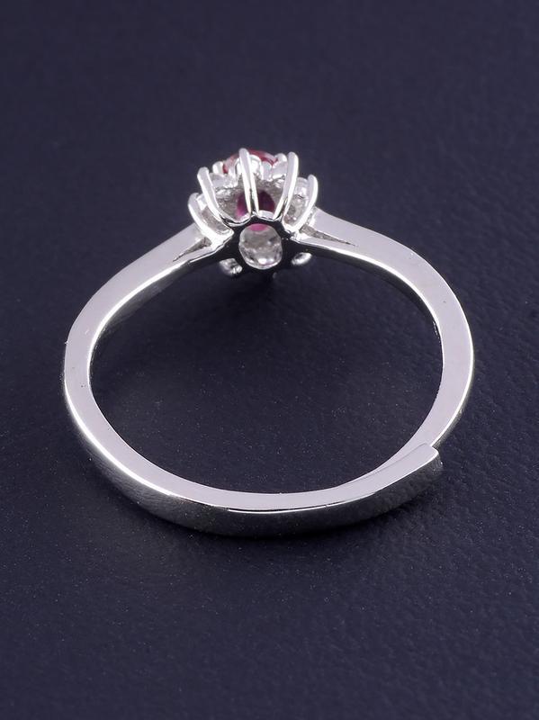 Кольцо рубин 1,6 г. 0465600 - Фото 2