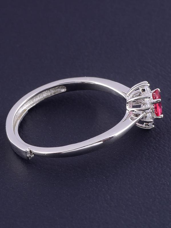Кольцо рубин 1,6 г. 0465600 - Фото 3