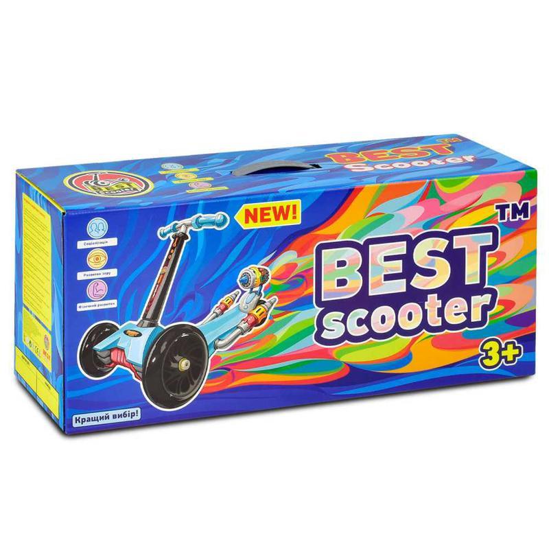 Самокат детский Best Scooter Maxi 1392 светятся колеса - Фото 4