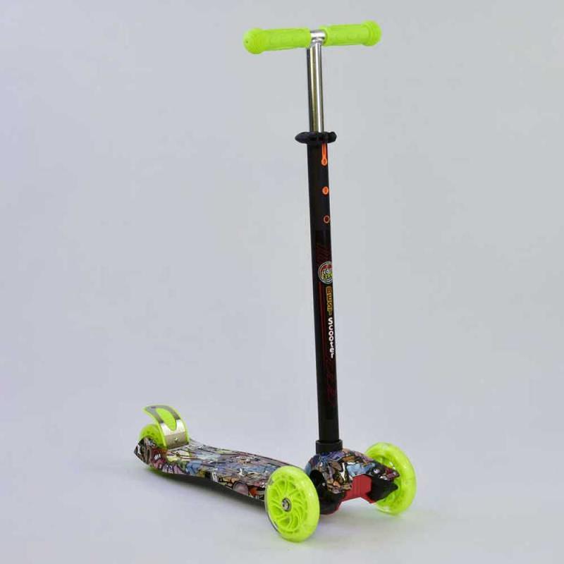 Самокат детский Best Scooter Maxi 1325 светятся колеса