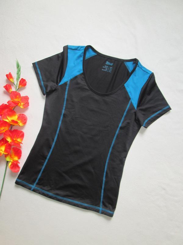 Спортивная футболка  низ просиликоненный утяжка сетка crivit s...