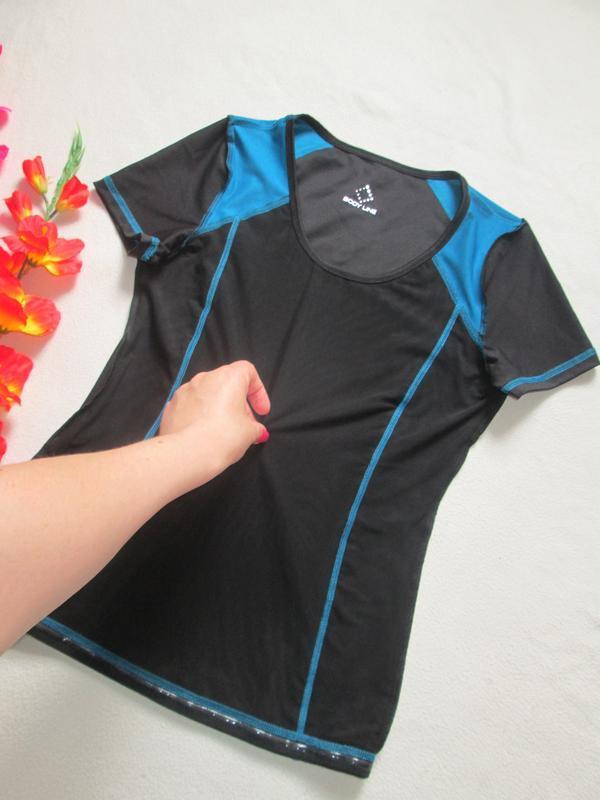 Спортивная футболка  низ просиликоненный утяжка сетка crivit s... - Фото 3