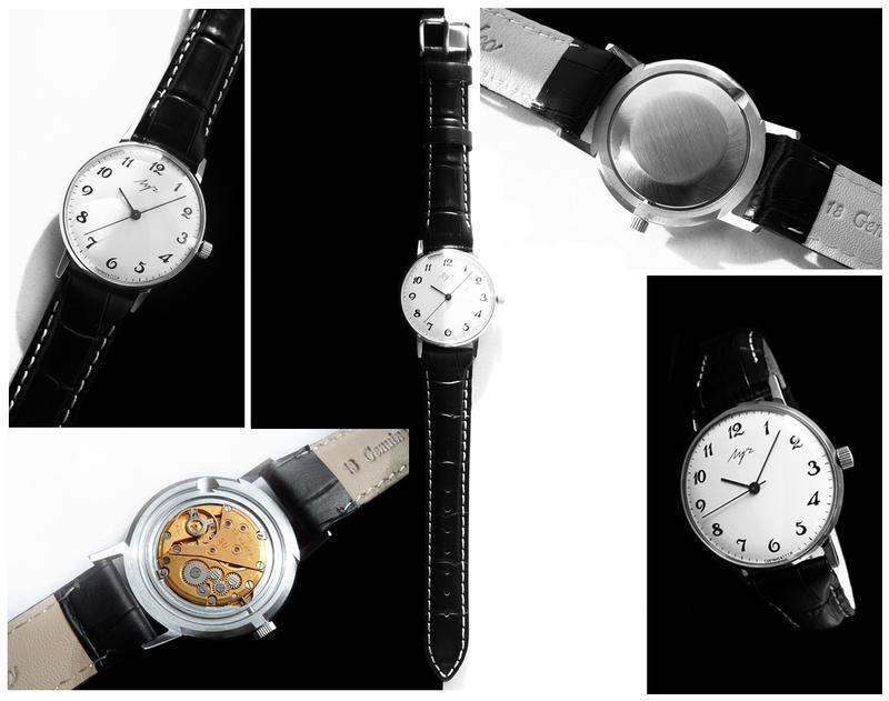 НУЛЯЧИЙ! «ЛУЧ-2209» с ПОЗОЛОЧЕННЫМ мехом, часы СССР 80-х.