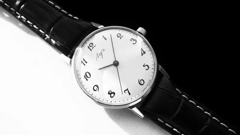 НУЛЯЧИЙ! «ЛУЧ-2209» с ПОЗОЛОЧЕННЫМ мехом, часы СССР 80-х. - Фото 2