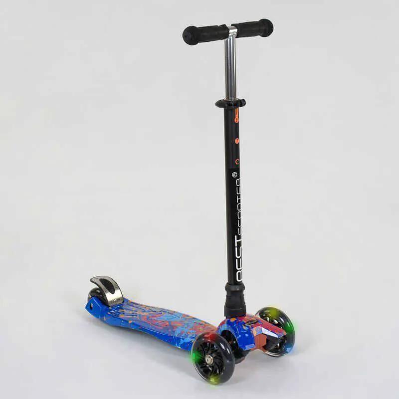 Самокат детский Best Scooter Maxi 1338 светятся колеса