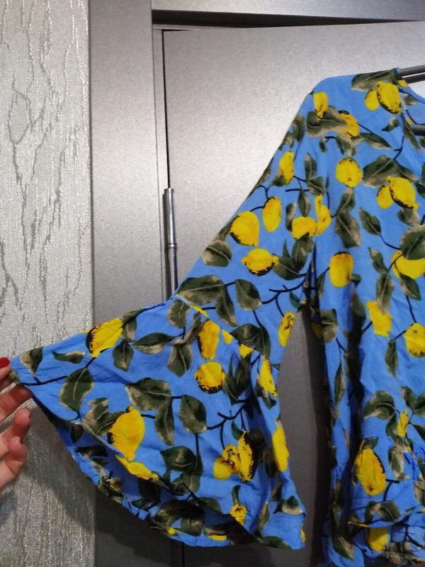 Шикарная блуза из чистой вискозы - Фото 2
