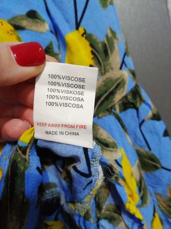 Шикарная блуза из чистой вискозы - Фото 4