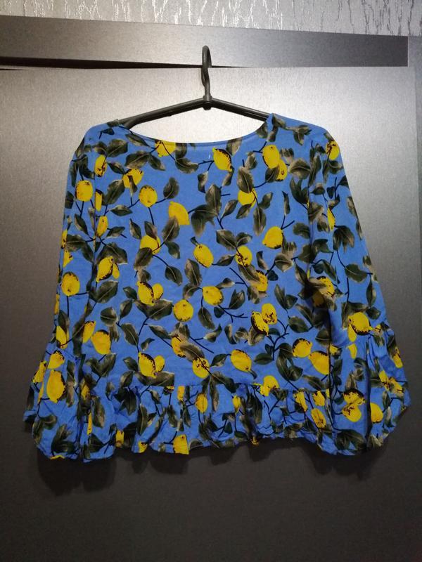 Шикарная блуза из чистой вискозы - Фото 5