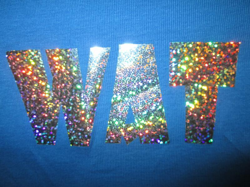 Суперовая стрейчевая футболка с голограммной надписью 100% кот... - Фото 3