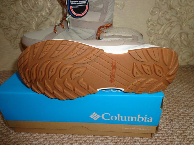 Columbia meadows shorty omni-heat 3d новые зимние женские сапоги - Фото 5