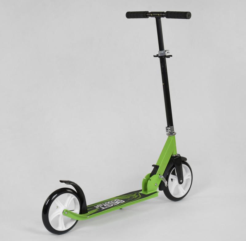 Самокат двухколесный Best Scooter, Салатовый - Фото 5