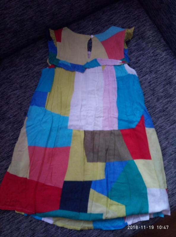 Супер красивое легчайшее платье next на 8 лет, - Фото 2