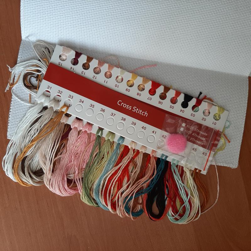 Набор для вышивки крестиком Пастушка Китайская копия - Фото 3