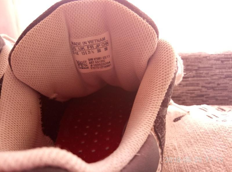 Кроссовки adidas размер 13 - Фото 4