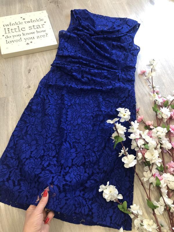 Красивое кружевное вечернее платье, платье футляр, гипюровое п...