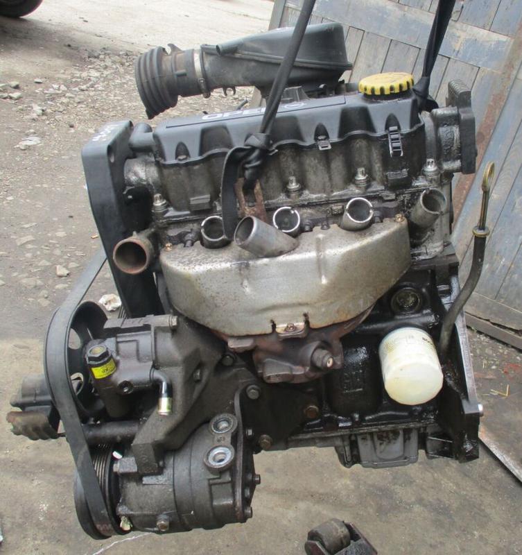 Б/У Двигатель Opel Astra G Kadett Vectra B 1.6 8V X16SZR - Фото 6