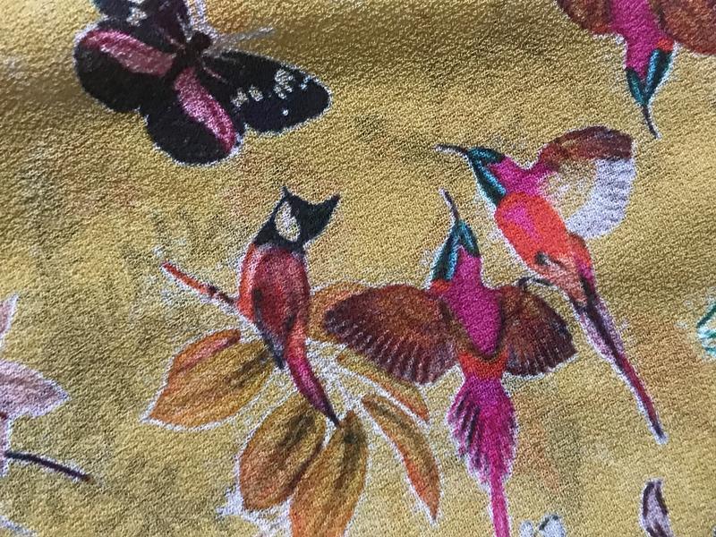 Блуза птички эксклюзив дорогой бренд nile размер s - Фото 6