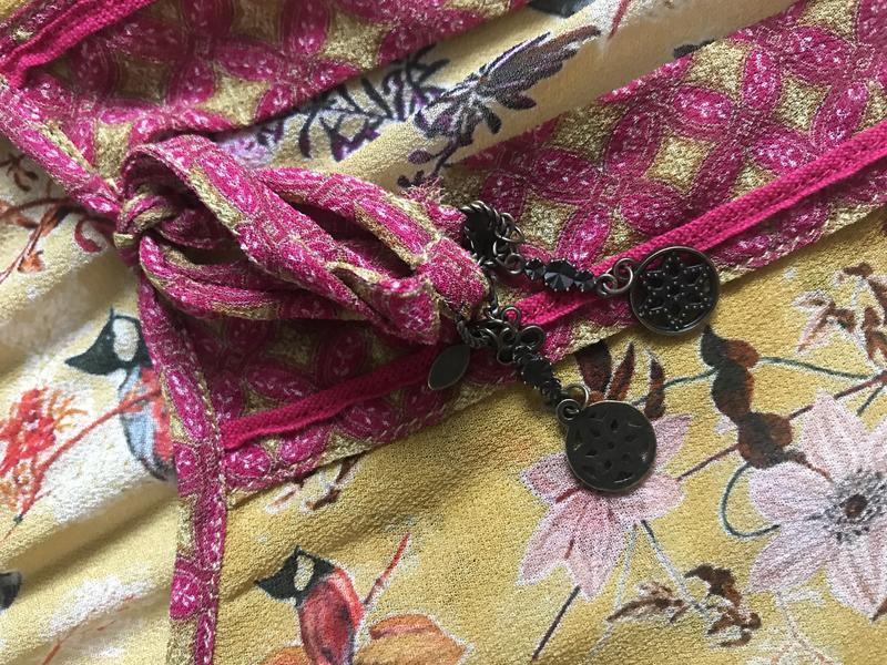 Блуза птички эксклюзив дорогой бренд nile размер s - Фото 8