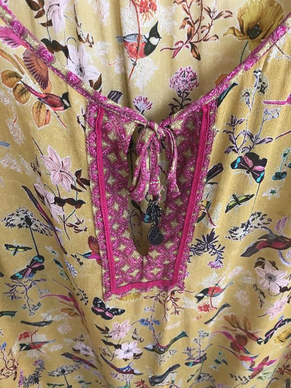Блуза птички эксклюзив дорогой бренд nile размер s - Фото 9