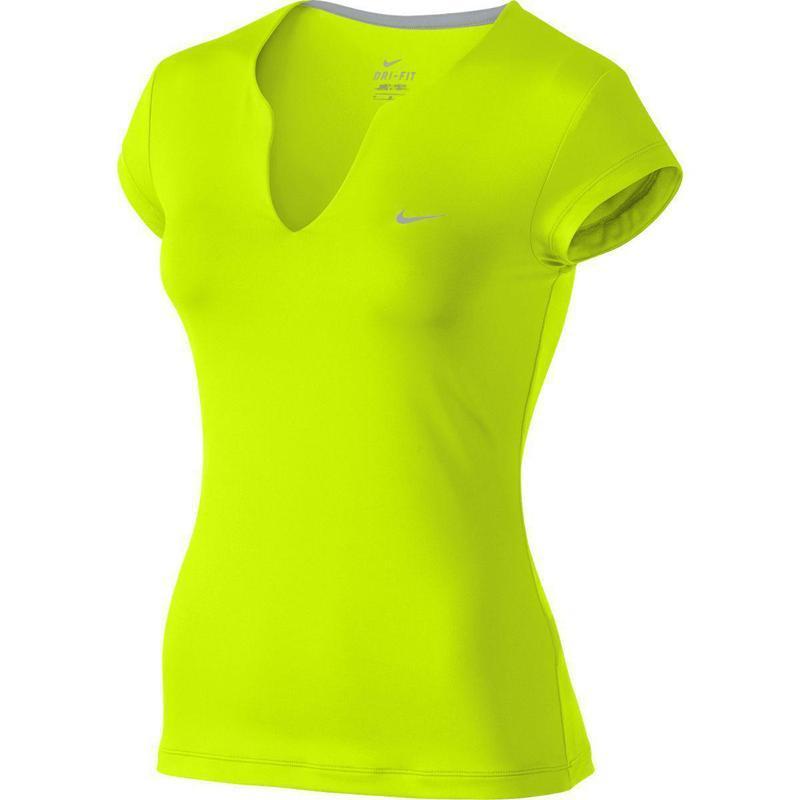 Фирменная суперовая яркая неоновая футболка nike dri-fit оригинал