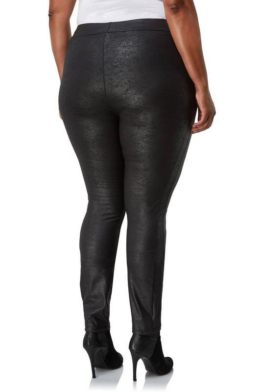 """Брендовые шикарные стрейчевые брюки с напылением """"под замш"""" вы..."""