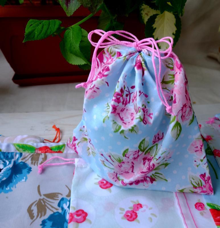 Эко мешочек ассорти, эко торбочка, мешочек для хранения, для п... - Фото 4