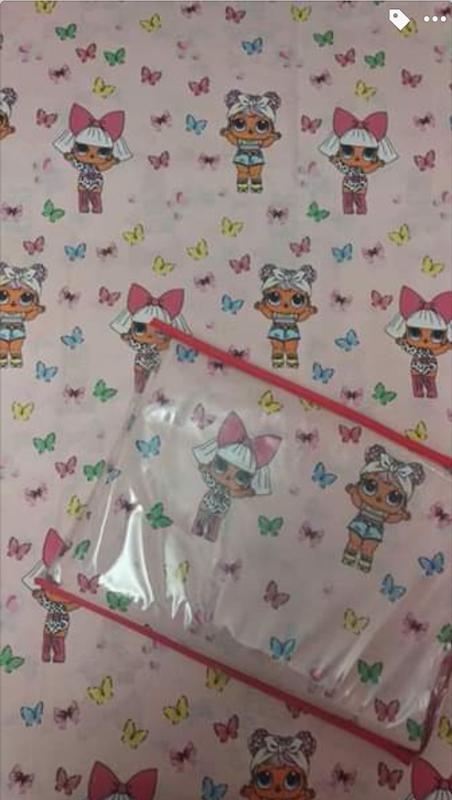 Полуторный постельный комплект куколка лол, новый - Фото 2