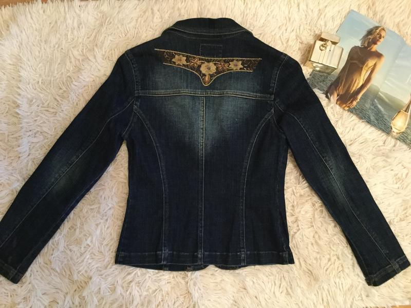 Скидка!!!джинсовая куртка. джинсовый пиджак,жакет. likom`s jeans - Фото 3
