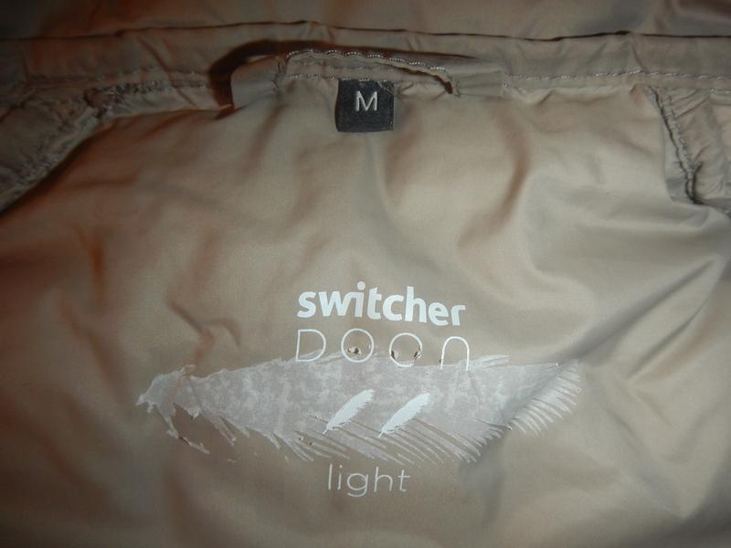 Супер легкая пуховая куртка switcher р.м - Фото 4