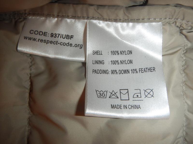 Супер легкая пуховая куртка switcher р.м - Фото 7