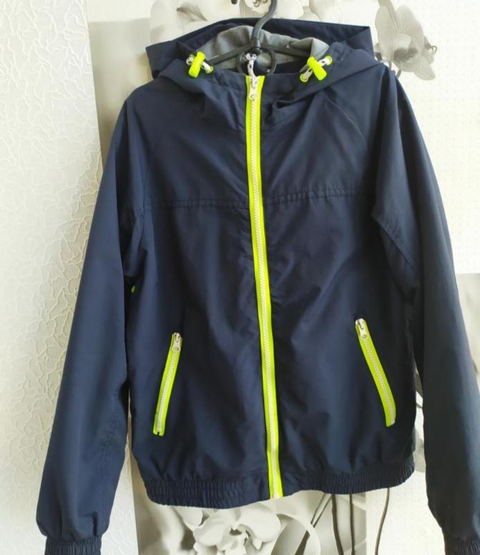 Куртка, подкладка флис, ветровка, фирменная