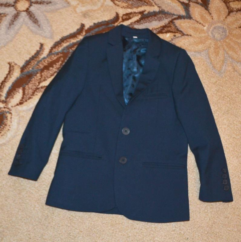 Пиджак школьный marks&spencer р.6-7 лет 116-122 см - Фото 3