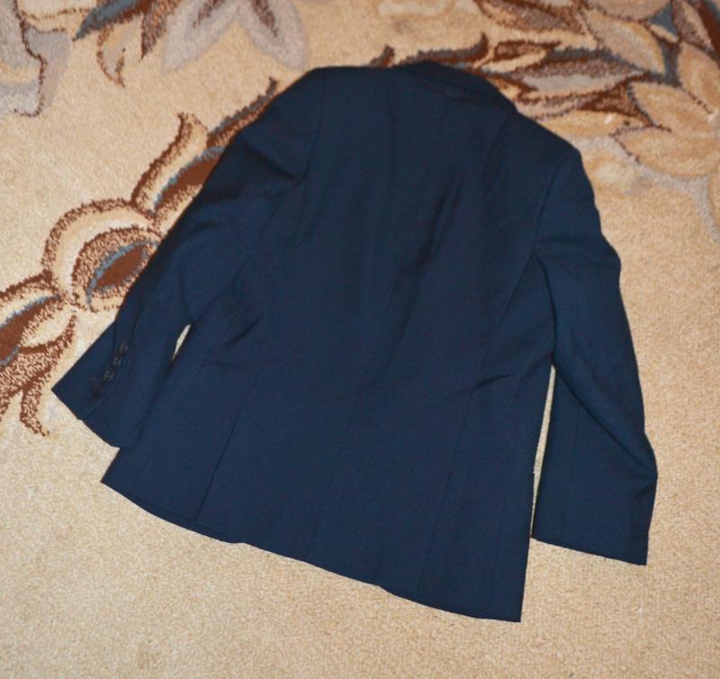 Пиджак школьный marks&spencer р.6-7 лет 116-122 см - Фото 4
