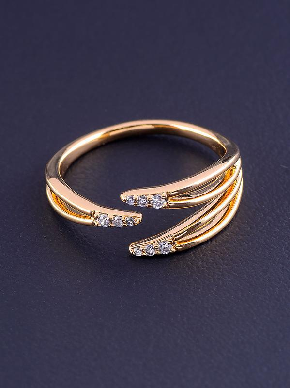 Кольцо 'xuping' фианит (позолота 18к) 0876840