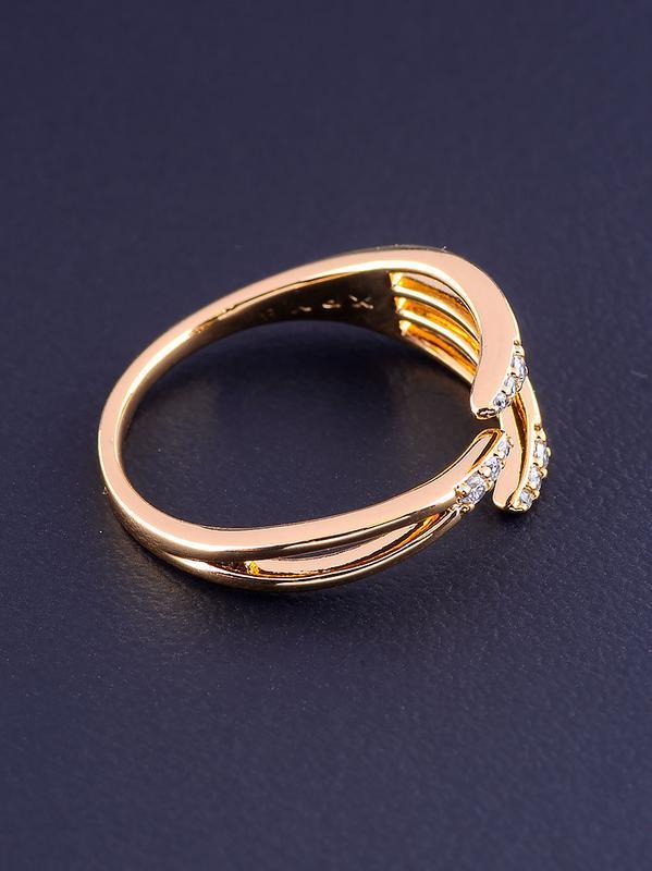 Кольцо 'xuping' фианит (позолота 18к) 0876840 - Фото 3