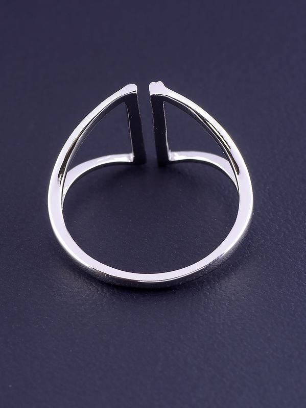 Кольцо 'xuping' фианит (родий) 0876780 - Фото 2