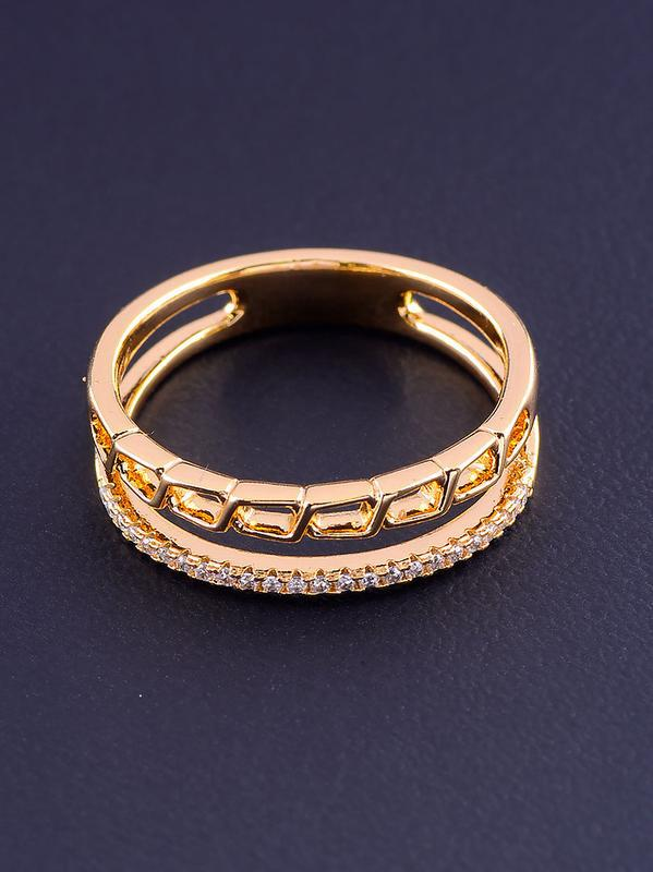 Кольцо 'xuping' фианит (позолота 18к) 0877060