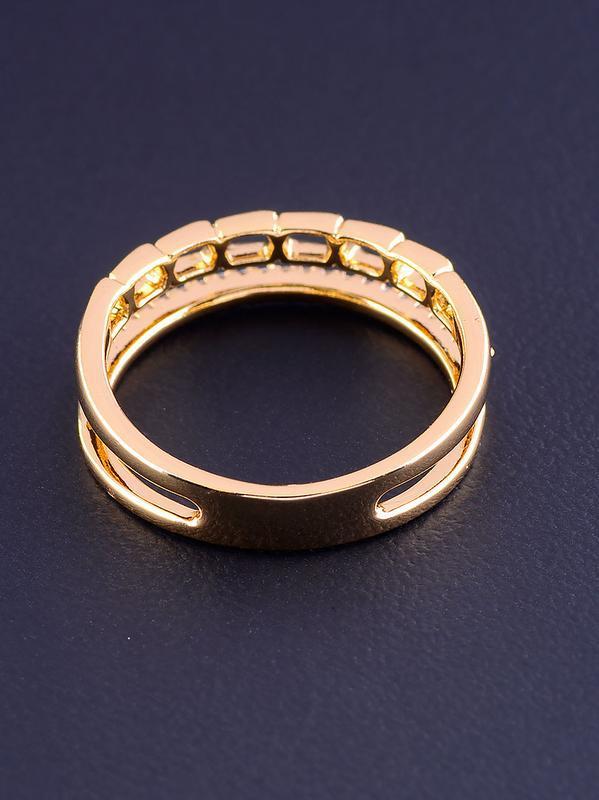 Кольцо 'xuping' фианит (позолота 18к) 0877060 - Фото 2