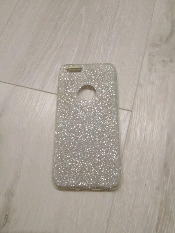 IPhone 6 / 6s чехол силиконовый серебристый