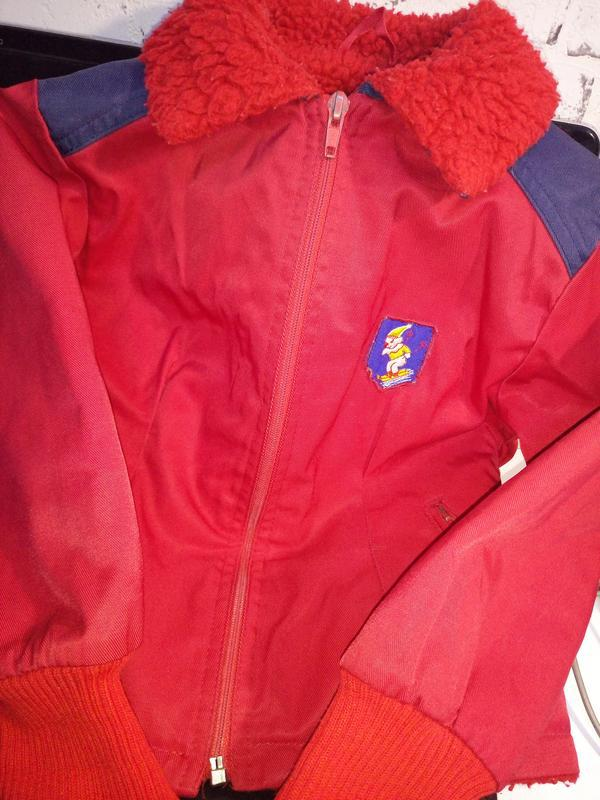 Винтаж.детская демисезонная куртка.финляндия - Фото 4