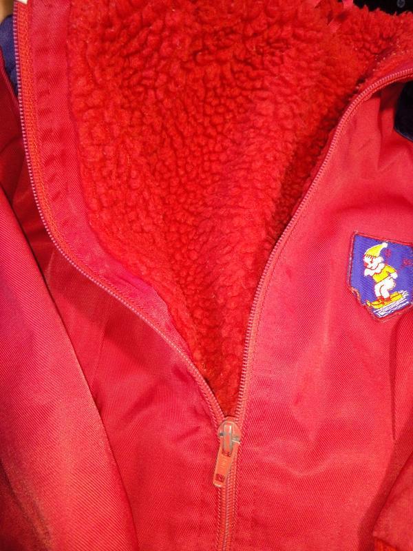 Винтаж.детская демисезонная куртка.финляндия - Фото 5