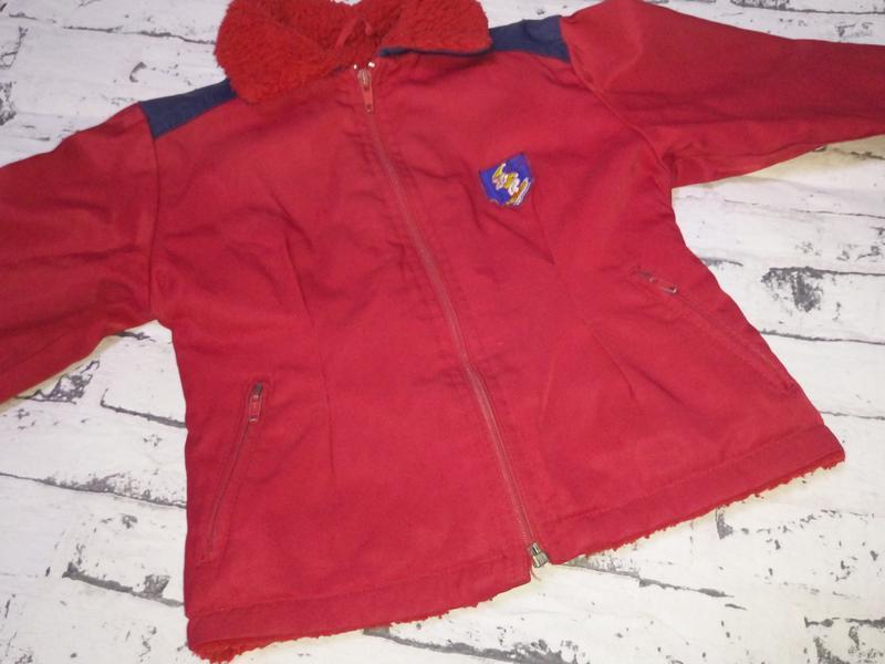 Винтаж.детская демисезонная куртка.финляндия - Фото 9