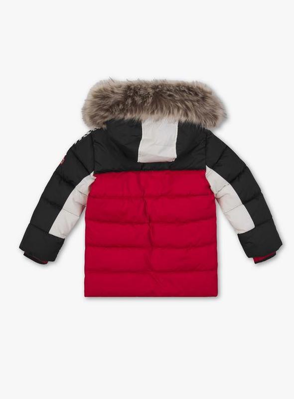 Супер крутая фирменная стеганая куртка для мальчика 98 см - Фото 3