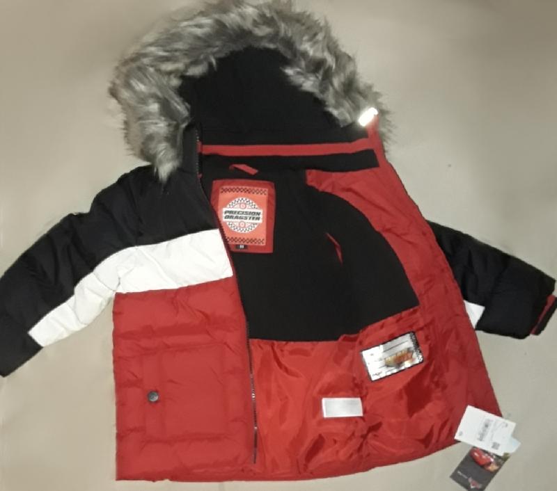 Супер крутая фирменная стеганая куртка для мальчика 98 см - Фото 5