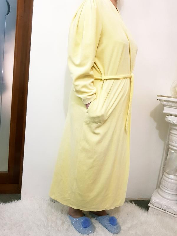 Велюровый халат - Фото 2