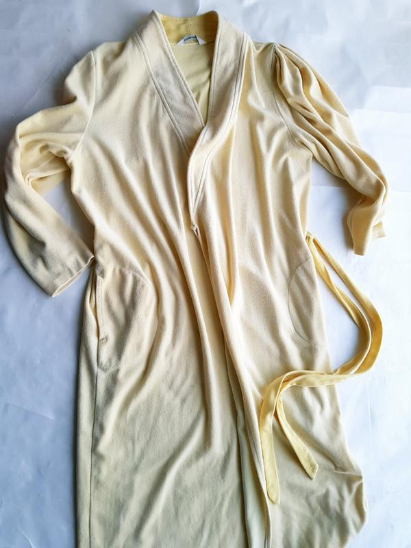 Велюровый халат - Фото 4