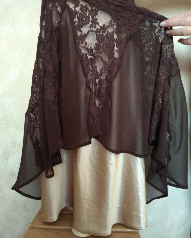 Платье вечернее laura scott двойное - Фото 8