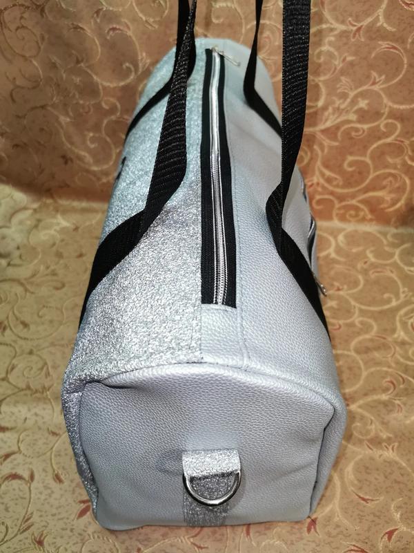 Спортивная женская сумка из pu кожи! для фитнеса, в спортзал,д... - Фото 2