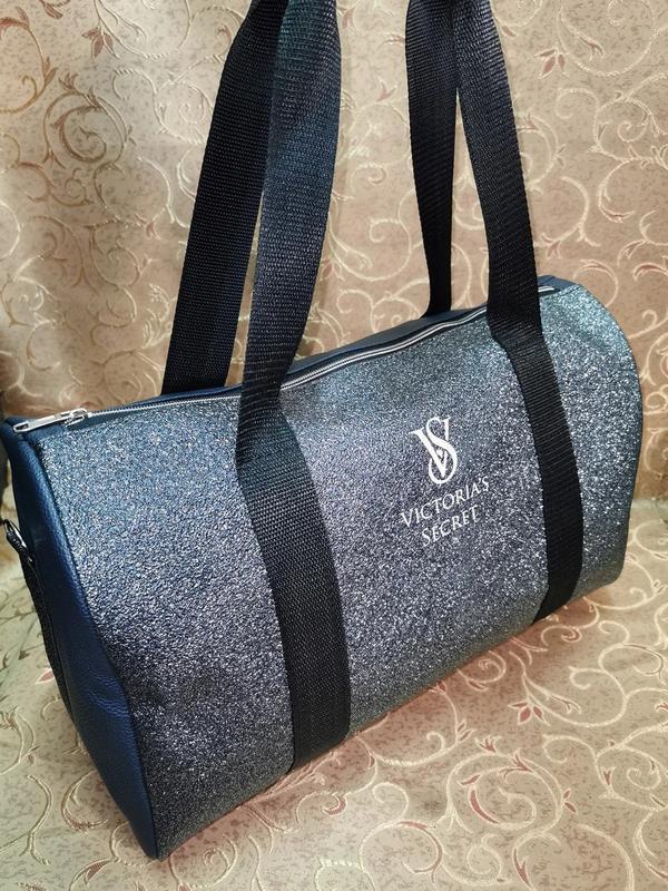 Спортивная женская сумка из pu кожи! для фитнеса, в спортзал,д... - Фото 7